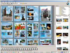 Screenshot vom Programm: MyPhotoFun-Editor